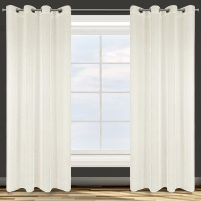 Záclona hotová s krúžkami ADEL 140x250cm krémová