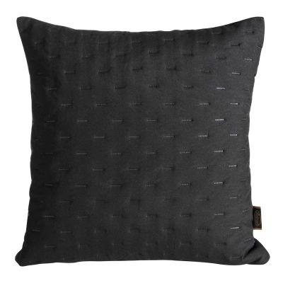 Obliečka na vankúš LIBI 2, 45x45 cm čierna
