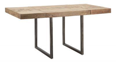 Jedálenský stôl Mumbai z dreva Akácie, 80x80x77 cm