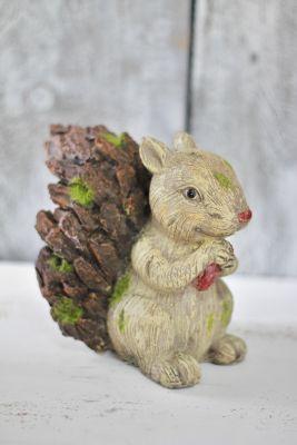 Záhradná veverička polyresin