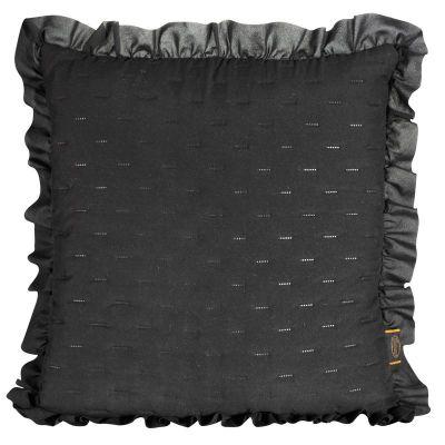 Obliečka na vankúš LIBI, 45x45 cm čierna
