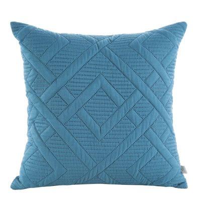 Jednofarebná obliečka na vankúš ALARA 2 40x40 cm modrá