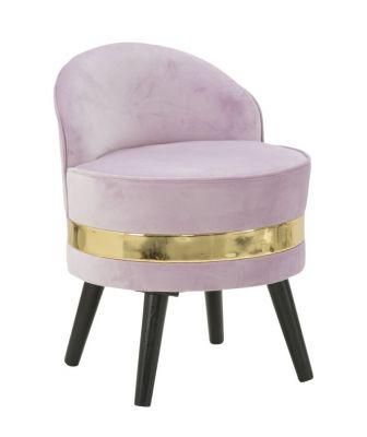 Kreslo mini PARIS ružové Ø 45x62cm