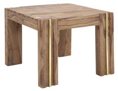 Drevený stôl MASIV SHEESHAM, 58x58x45 cm