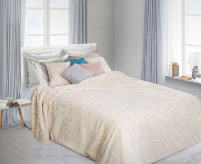 Prehoz na posteľ OFELIA 70x150cm  krémový