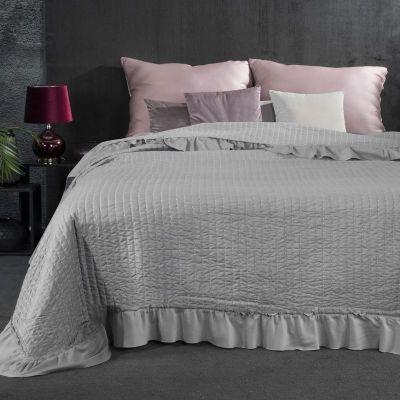Prehoz na posteľ KLAUDIA 170x210 sivý