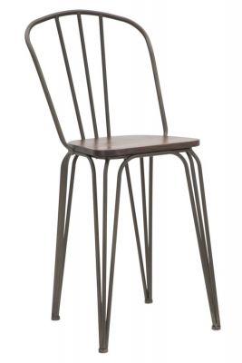 Barová stolička HARLEM, set/2ks, 54x45x102 cm