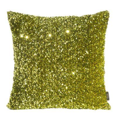Obliečka na vankúš BELISA, 45x45 cm olivovo zelená