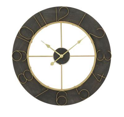 Nástenné hodiny Dark Glam Ø 70x5cm