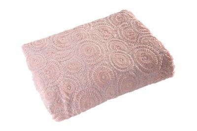 Prehoz na posteľ OFELIA 70x150cm ružový