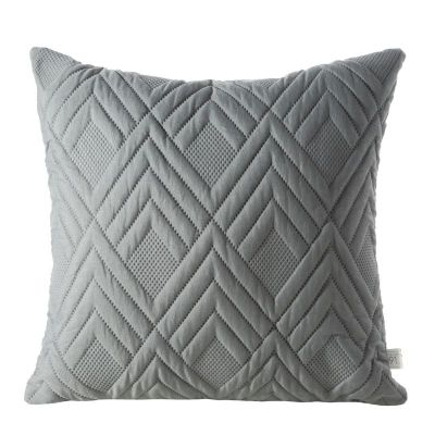 Jednofarebná obliečka na vankúš ALARA 1 40x40 cm  sivá