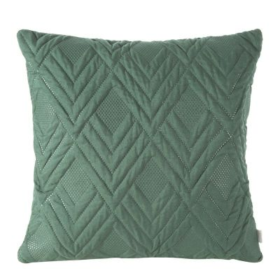Jednofarebná obliečka na vankúš ALARA 1 40x40 cm tmavo zelená