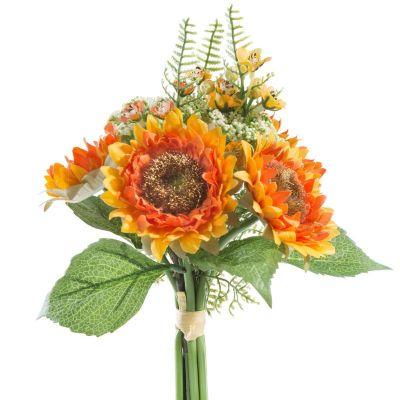 Umelý kvet NATUR 163 / 30x22cm oranžový