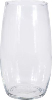 Sklenená váza 14x25cm číra