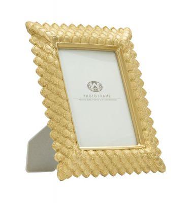 Zlatý rám na fotografie 25,5x3,3x30,5 cm