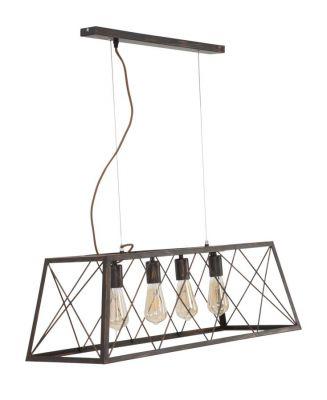 Stropná lampa Industry 78x30x26,5cm