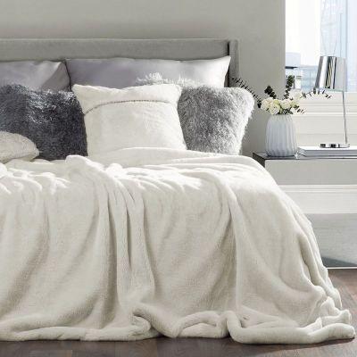Prehoz na posteľ CONEJO 170x200 krémový