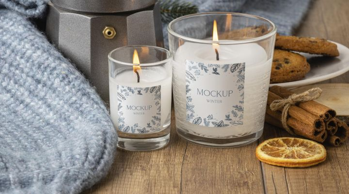 KRÁSNE dekoratívne sviečky a svietniky presne pre váš DOMOV